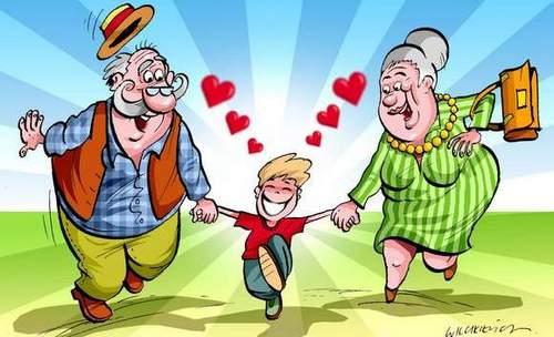 Znalezione obrazy dla zapytania dzień babci i dziadka rysunek